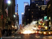 streets of new york by night