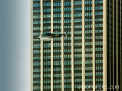 helicoptero en manhattan. new york