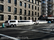 limousines. streets of new york