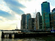 puerto marítimo de south street. new york
