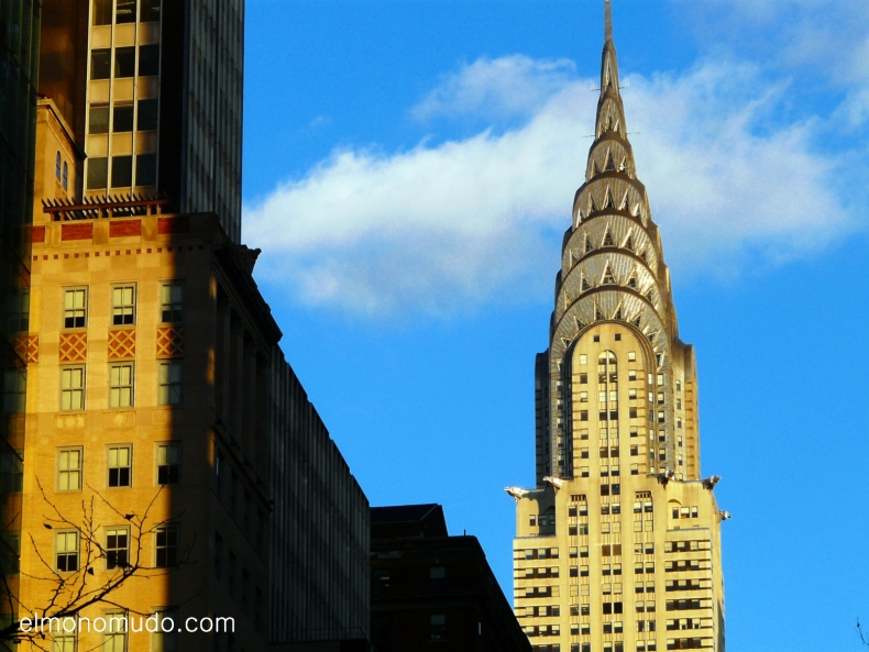 the chrysler building. manhattan. new york