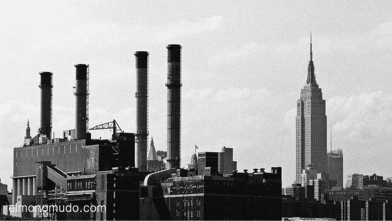 Empire State.Manhattan.New York. en blanco y negro