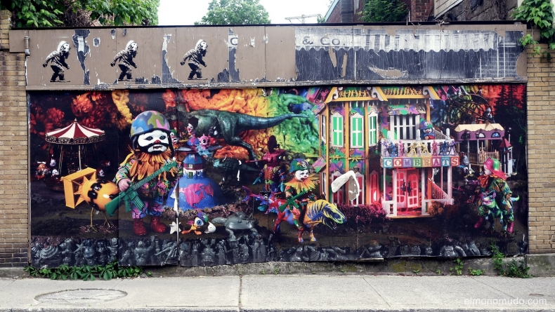 graffiti in beacon.new york