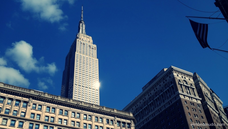 empire state building.manhattan.new york city