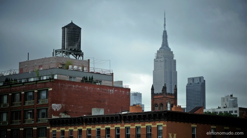 empire state building.manhattan.new york city