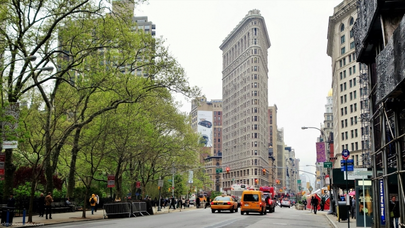 flatiron building.new york city
