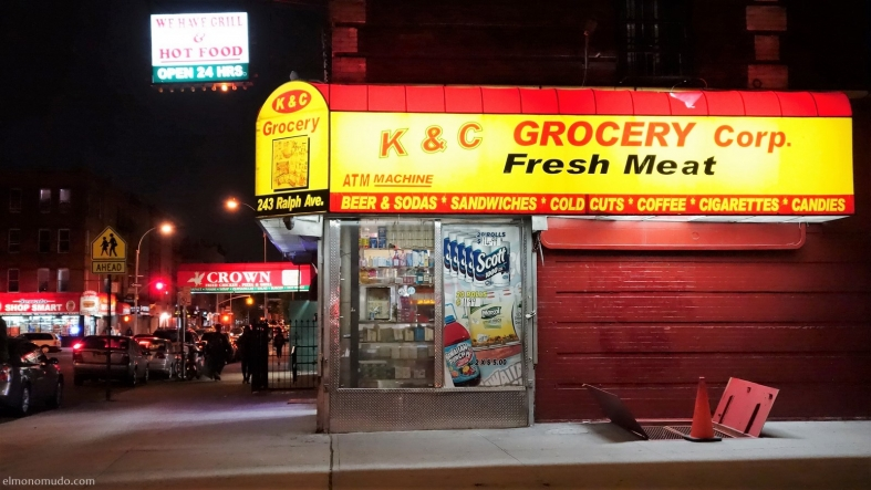 brooklyn night. new york city