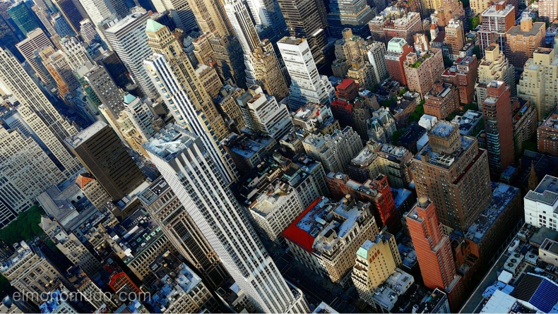 new york. manhattan. vista desde empire state building