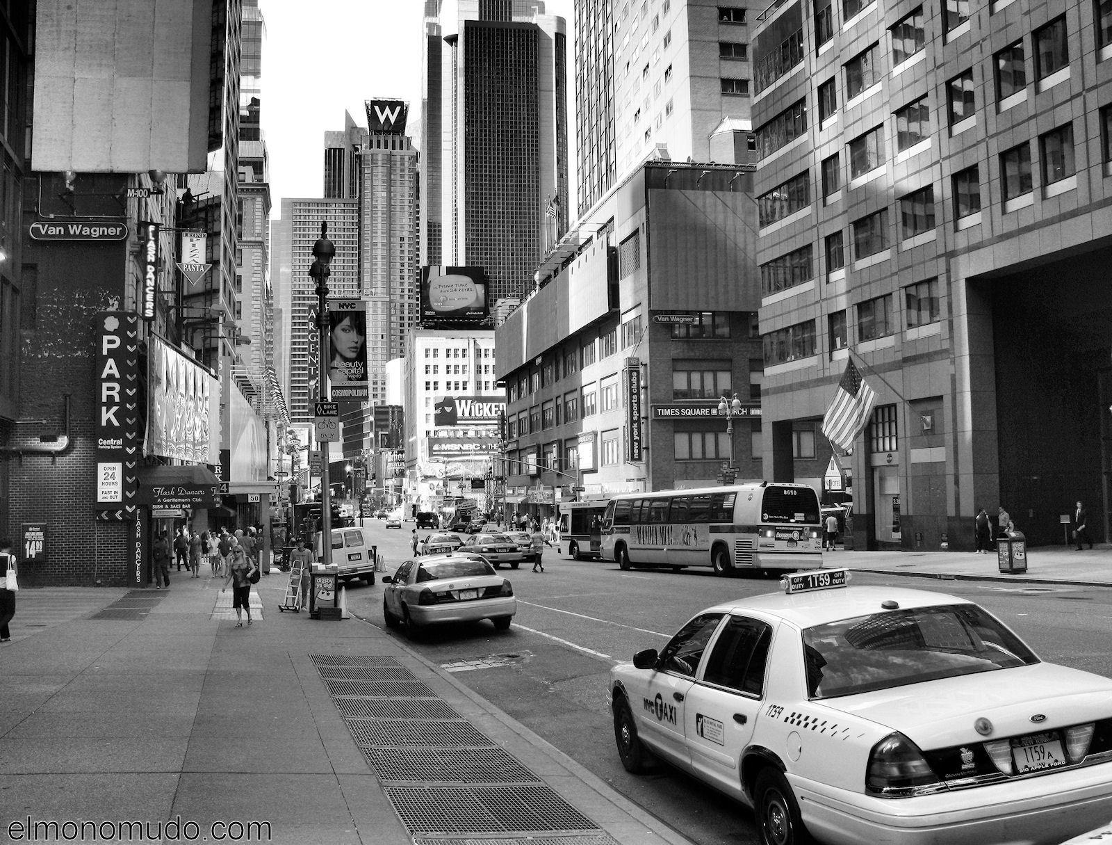 Nueva york manhattan en blanco y negro ii - Fotos en blanco ...
