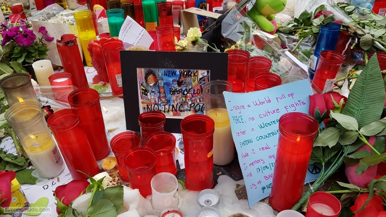 barcelona, atentado ramblas, no tinc por, new york city message