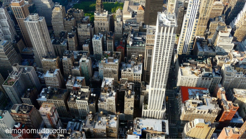 Vista desde el Empire State Building.Manhattan.New York