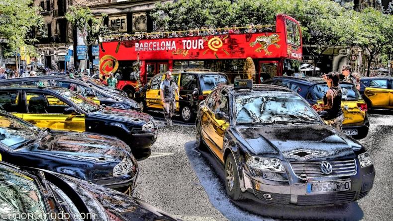Parada de taxis 2011