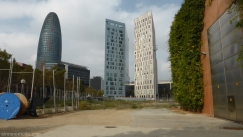 Solar carrer Tanger a Barcelona