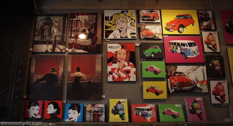 Barcelona Puertaferrisa Posters 1