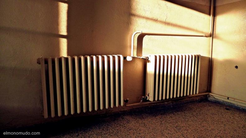 radiadores entre sol y sombra
