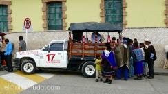 venta ambulante en el mercado de silvia.colombia