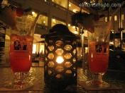 Hotel Raffles. Singapur. Aqui nos tomamos un 25.09.2007, el famoso cóctel Singapore Sling, coste 47,10 dólares de Singapur (SGD), impuestos incuidos.