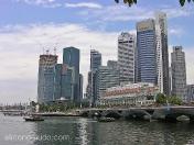 Parque del Merlión. Marina Bay. Singapur.