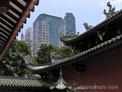 Templo de Thian Hock Keng, llamado de la Felicidad Celestial, dedicado a Ma Cho Po, diosa del mar. Singapur.