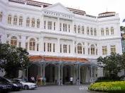Hotel Raffles. Singapur. Lujo y regusto colonial, por aqui han pasado Joseph Conrad, Rudyard Kipling y Somerset Maugham.