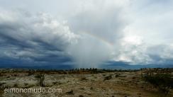tormenta en el desierto de la tatacoa. colombia