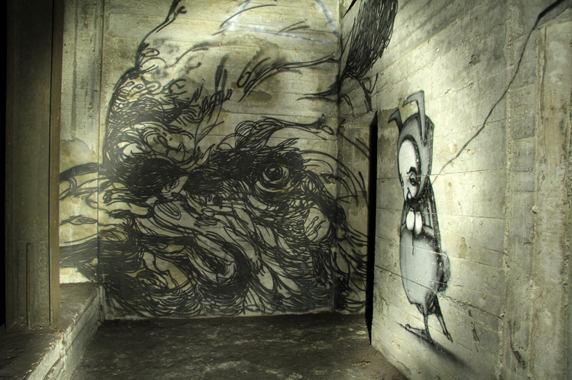 (left to right)by gaia, stormie.the underbelly project