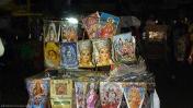 Varanasi mercado nocturno