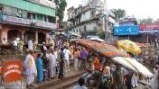 Varanasi escaleras del rio