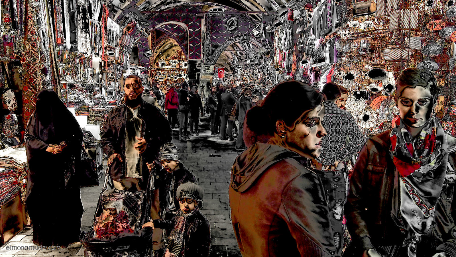 Gran Bazar Estambul 2011 variation color 4