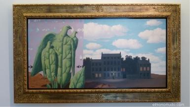 le domaine enchante I por rene magritte museo würth. la rioja. españa