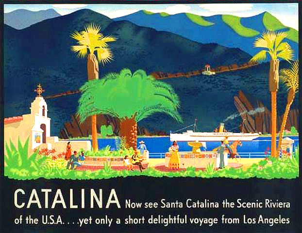 Otis Shepard Catalina Island