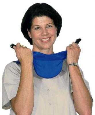 guarda tiroides,cuello de protección de tiroides, grosor equivalente 0.5mm de plomo