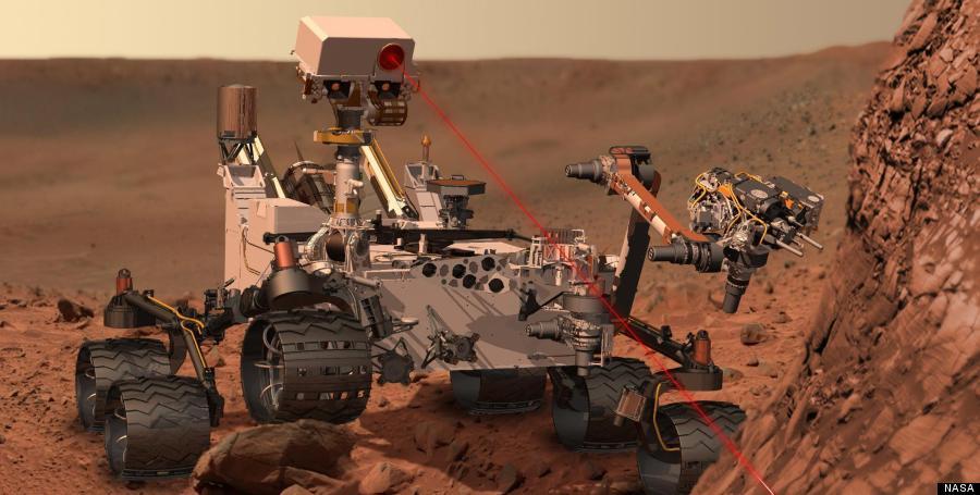 curiosity in mars