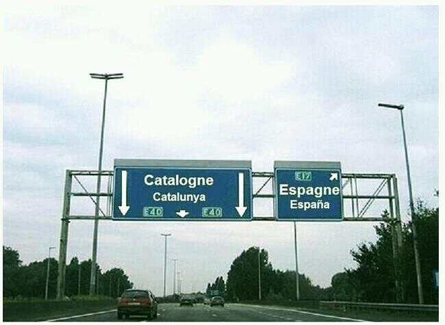 catalunta  y  españa en  francia lo tienen claro