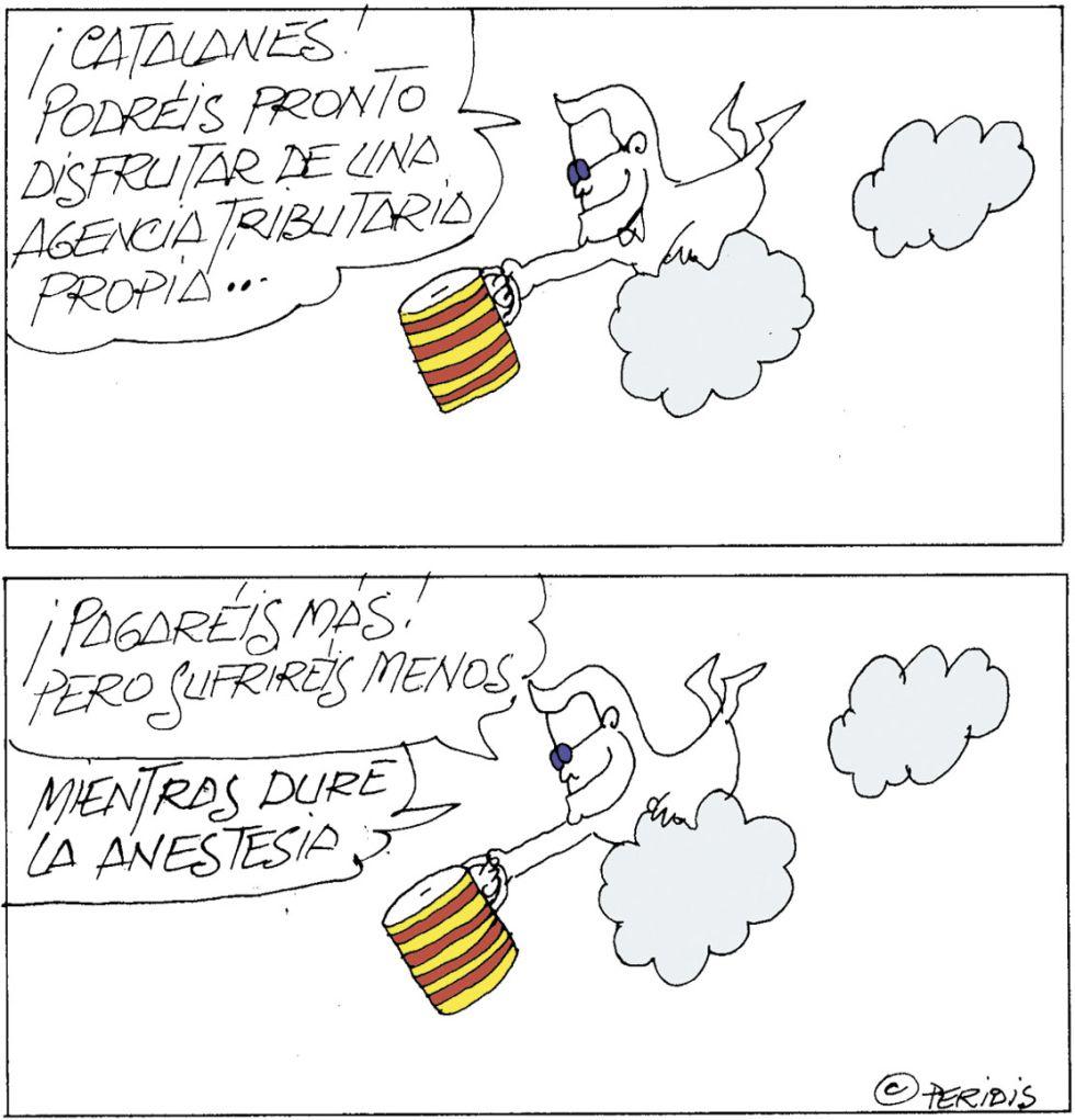 agencia tributaria catalana. peridis