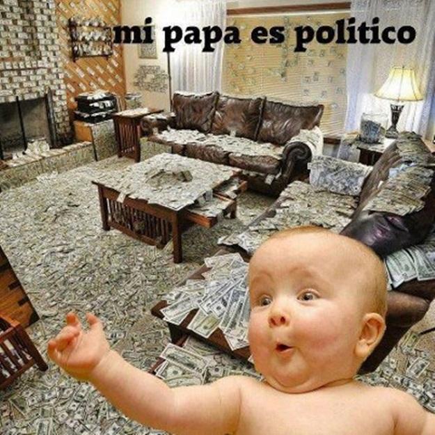 mi papa es politico