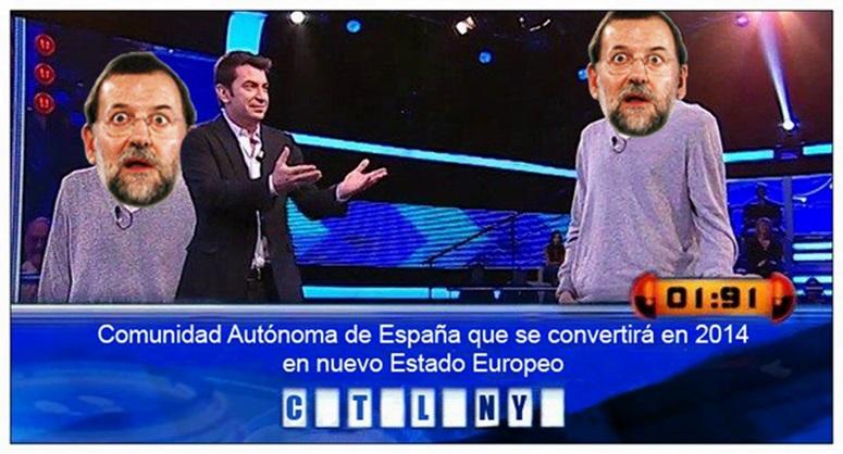 rajoy no tiene la solucion de catalunya nuevo estado europeo