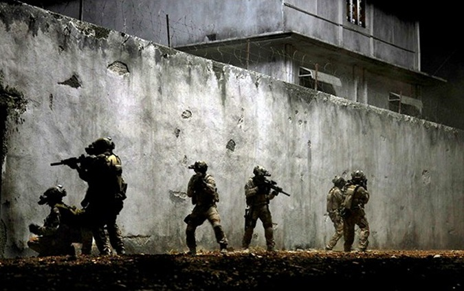 navy seals en el film la noche mas oscura,  zero dark thirty