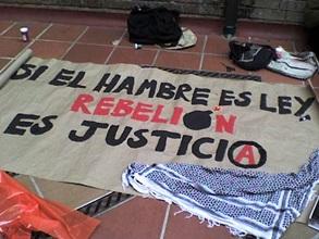 si el hambre es ley, la rebelion es justicia