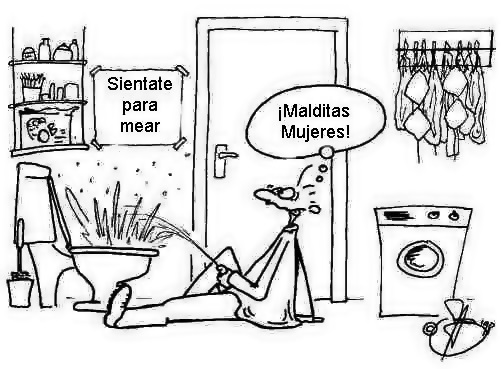 mujeres hombres chistes