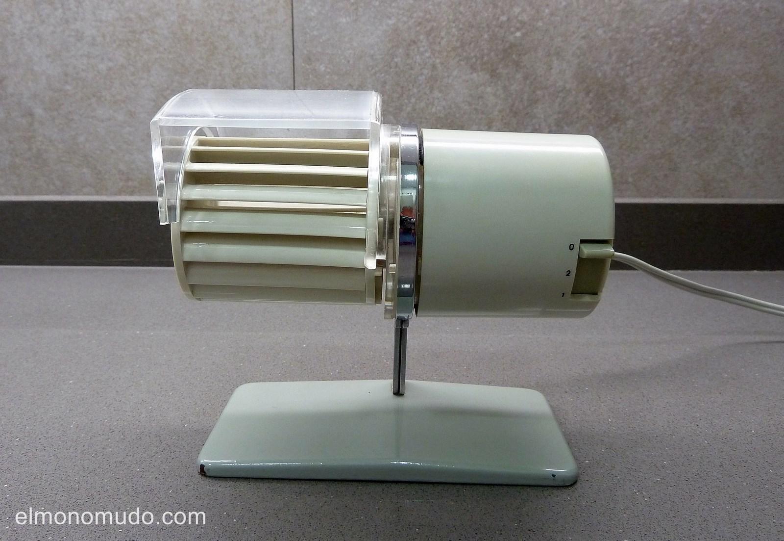 Ventilador de mesa  HL1 de Braun mítico objeto vintage y de diseño