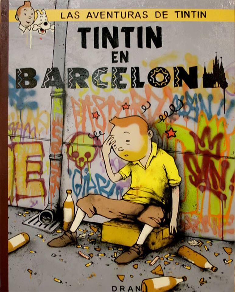 tintin en barcelona