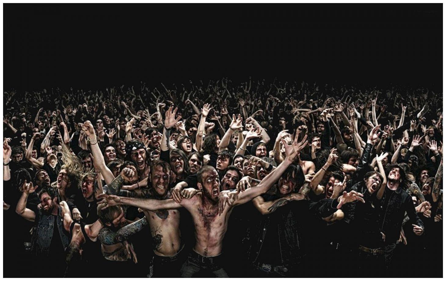 zombis en gracia barcelona