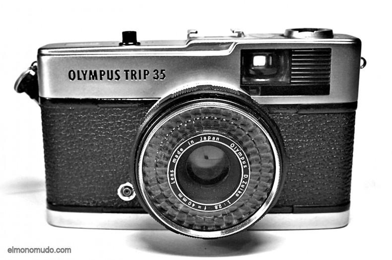 OLYMPUS TRIP 35 RESTAURADA