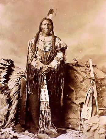 indio apache con flecos