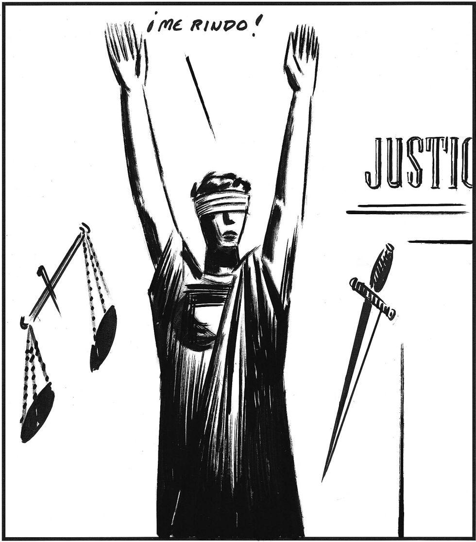 la justicia se rinde.el roto