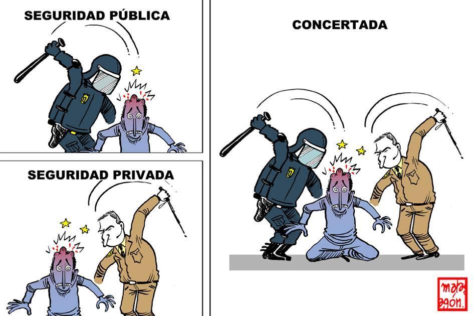 las fuerzas de los corruptos