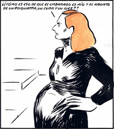 ley aborto de gallardon. el roto