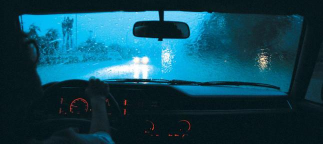 lluvia al volante