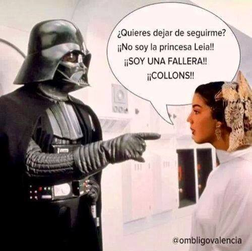 star wars. no soy la princesa leia